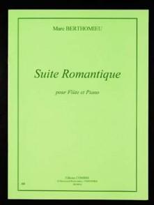 BERTHOMIEU M. SUITE ROMANTIQUE FLUTE
