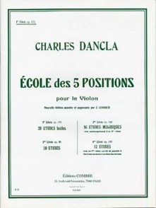 DANCLA C. ECOLE DES 5 POSITIONS OP 122 VOL 1 VIOLON