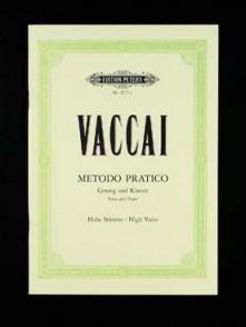 VACCAI N. METHODE PRATIQUE DE CHANT VOIX MOYENNE