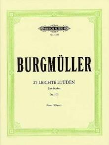 BURGMULLER F. ETUDES FACILES OP 100 PIANO