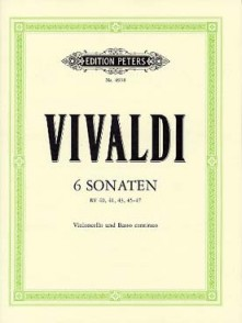VIVALDI A. 6 SONATES VIOLONCELLE