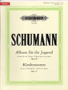 SCHUMANN R. ALBUM DE LA JEUNESSE OP 68 SCENES D'ENFANTS OP 15 PIANO