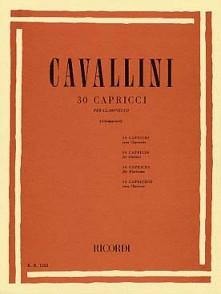 CAVALLINI E. 30 CAPRICES CLARINETTE