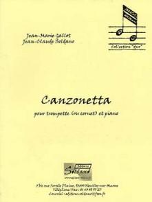 GALLOT J.M./SOLDANO J.C. CANZONETTA TROMPETTE