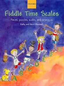 BLACKWELL K. D. FIDDLE TIME SCALES 1 VIOLON