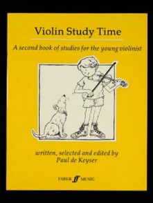 KEYSER (DE) P/ VIOLIN STUDY TIME VIOLON