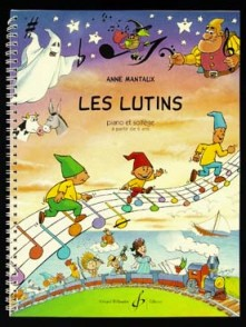 MANTAUX A. LES LUTINS PIANO