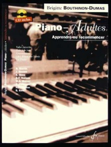 BOUTHINON-DUMAS B. PIANO ADULTES APPRENDRE OU RECOMMENCER