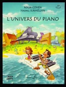 COHEN / SURMELIAN L'UNIVERS DU PIANO