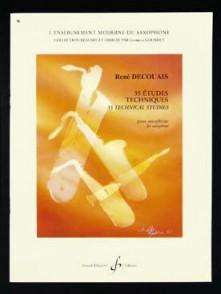 DECOUAIS R. 35 ETUDES TECHNIQUES SAXO