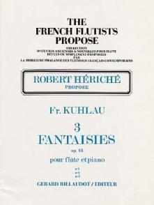 KUHLAU F. 3 FANTAISIES OP 95 N°2 FLUTE