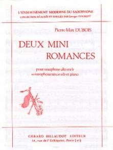 DUBOIS P.M. MINI ROMANCES SAXO ALTO OU TENOR