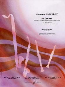 LANCELOT J. 23 ETUDES CLARINETTE