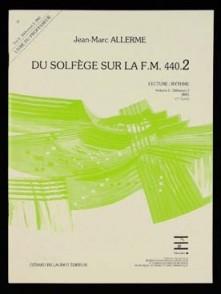 ALLERME J.M. DU SOLFEGE SUR LA FM 440.2 LECTURE RYTHME PROFESSEUR
