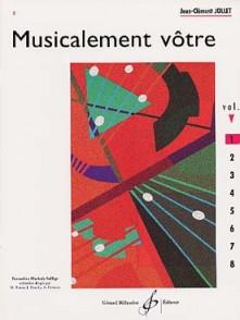 JOLLET J.C. MUSICALEMENT VOTRE VOL 1