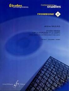 NAULAIS J. ETUDES VARIEES SUR LA SOUPLESSE VOL 1 TROMBONE