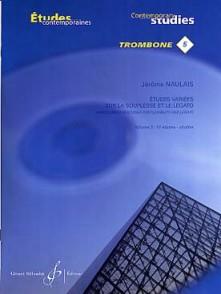 NAULAIS J. ETUDES VARIEES SUR LA SOUPLESSE VOL 3 TROMBONE