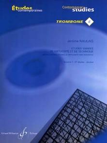 NAULAIS J. ETUDES VARIEES DE VIRTUOSITE VOL 1 TROMBONE