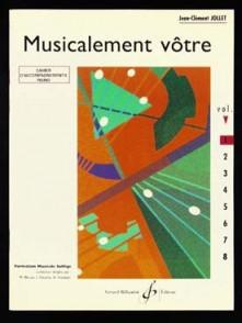 JOLLET J.C. MUSICALEMENT VOTRE VOL 1 PIANO