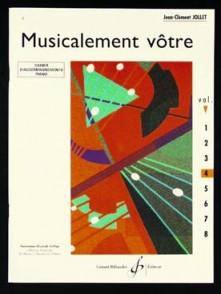 JOLLET J.C. MUSICALEMENT VOTRE VOL 4 PIANO
