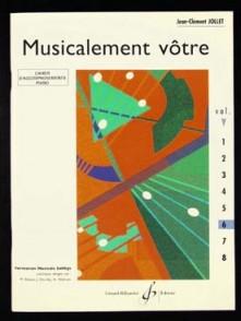 JOLLET J.C. MUSICALEMENT VOTRE VOL 6 PIANO