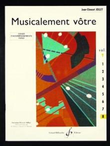 JOLLET J.C. MUSICALEMENT VOTRE VOL 8 PIANO