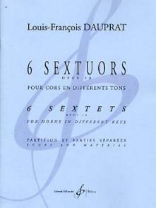 DAUPRAT L. F. 6 SEXTUORS OP 10 CORS