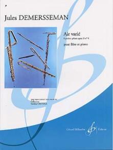 DEMERSSEMAN J. AIR VARIE OP 2 N°4 FLUTE