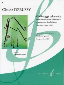 DEBUSSY C. GOLLIWOGG'S CAKE-WALK 4 CLARINETTES