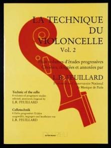 FEUILLARD L.R. TECHNIQUE DU VIOLONCELLE VOL 2
