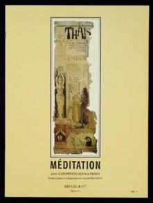 MASSENET J. MEDITATION DE THAIS SAXO ALTO