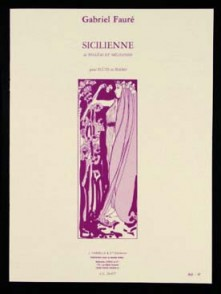 FAURE G. SICILIENNE OP 78 FLUTE