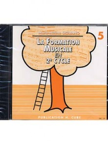 SICILIANO M.H. LA FORMATION MUSICALE VOL 5 CD