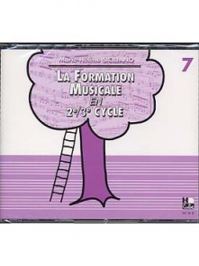 SICILIANO M.H. LA FORMATION MUSICALE VOL 7 CD