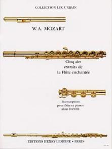 MOZART W.A. AIRS DE LA FLUTE ENCHANTEE FLUTE