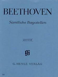 BEETHOVEN L. BAGATELLES PIANO