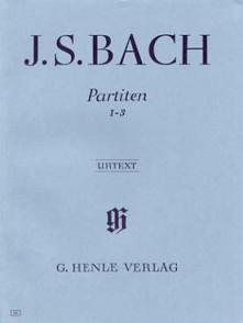 BACH J.S. 3 PARTITAS VOL 1 PIANO