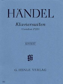HAENDEL G.F. KLAVIERSUITEN LONDON 1720 PIANO