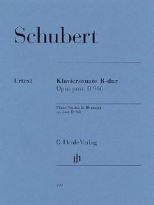 SCHUBERT F. SONATE SI MAJEUR D 960 PIANO
