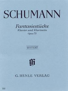 SCHUMANN R. PIECES DE FANTAISIES OP 73 CLARINETTE