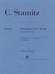 STAMITZ C. CONCERTO N°1 RE MAJEUR ALTO