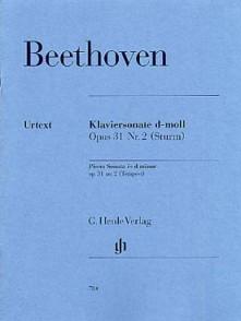 BEETHOVEN L. SONATE N°17 OP 31 N°2 PIANO
