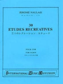 NAULAIS J. 30 ETUDES RECREATIVES COR