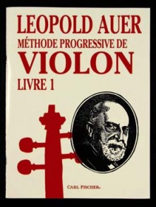 AUER L. METHODE PROGRESSIVE DE VIOLON VOL 1