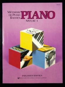 BASTIEN J. METHODE DE PIANO NIVEAU 1