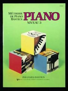 BASTIEN J. METHODE DE PIANO NIVEAU 3