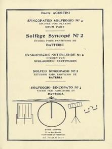 AGOSTINI D. SOLFEGE SYNCOPE VOL 2