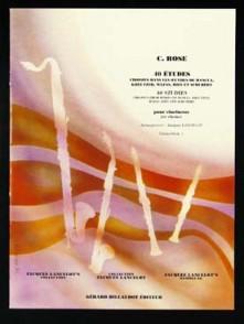 ROSE C. 40 ETUDES VOL 1 CLARINETTE