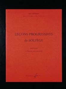GRIMOIN A. LECONS PROGRESSIVES DE SOLFEGE VOL 2