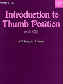 BENOY / SUTTON INTRODUCTION TO THUMB POSITION CELLO